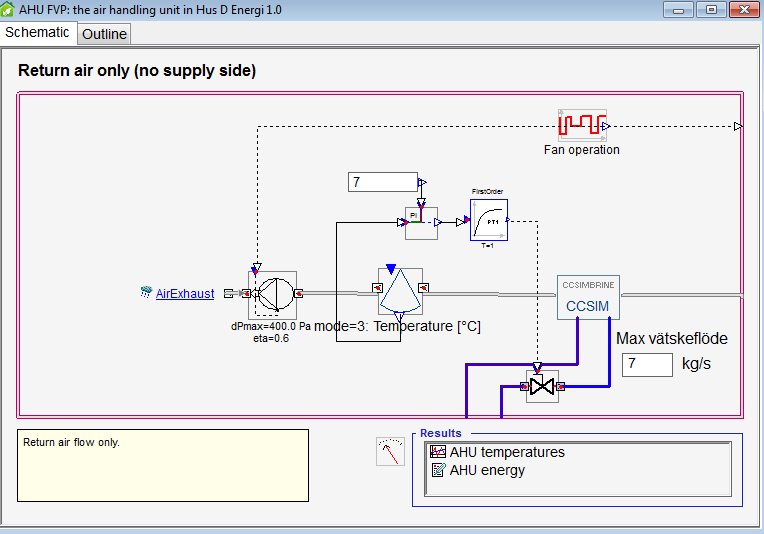 Exhaust air heat pump for residential - Simulation ... on
